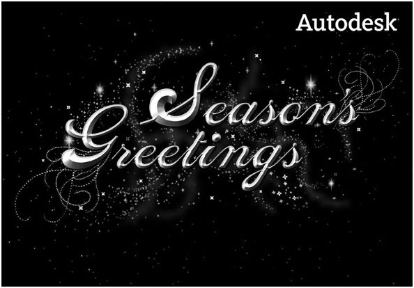 Autodesk Seasons Greetings