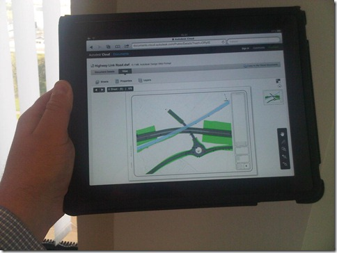 Autodesk Cloud - Documents on the iPAD